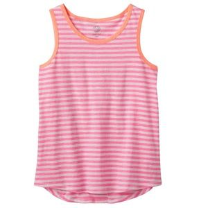 Girls Size SO Circle Hem Graphic Cutest Tank Top